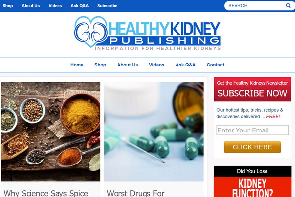 Healthy Kidney Publishing